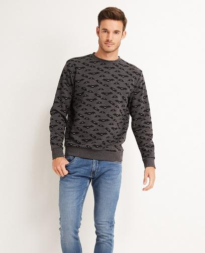 Dunkelgrauer Sweater
